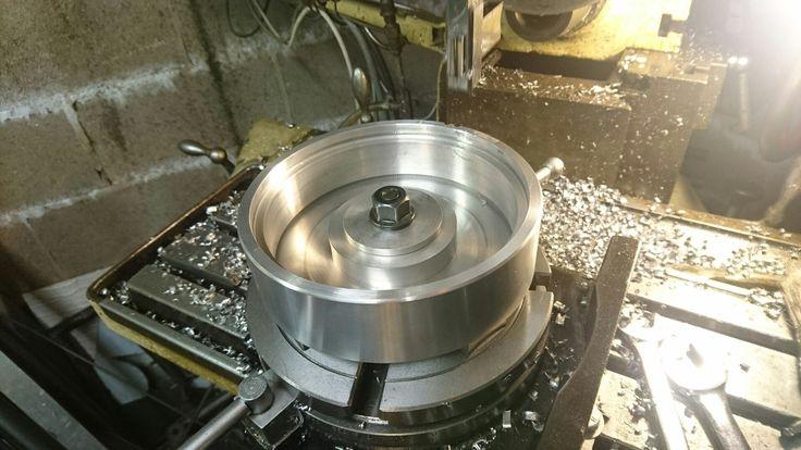 Complete Custom Clutch Basket before spline machining