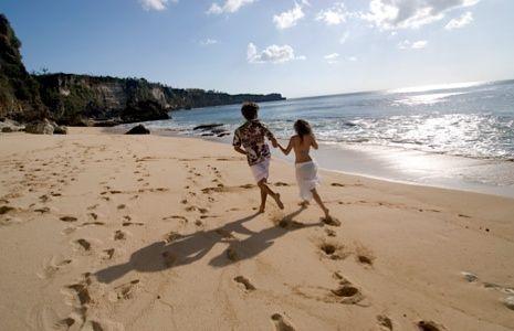 Beachin it at Kubu Beach http://www.ayanaresort.com/
