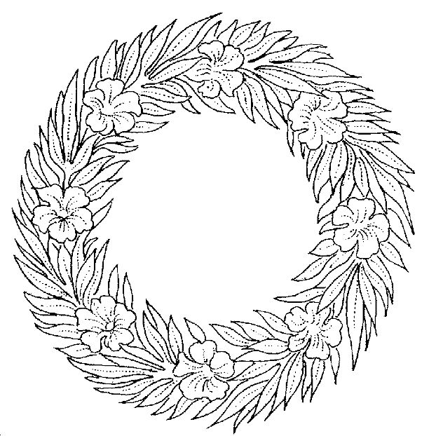 17 Best images about Coloring: Wreaths on Pinterest ...