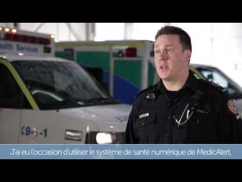 Ambulancier pour les Services de santé de l'Alberta, Sean explique comment la santé numérique lui permet de donner des soins personnalisés. Voyez comment il a pu, grâce à un accès aux dossiers de santé numériques de MedicAlert, prodiguer les meilleurs soins possible à un jeune de 17 ans qui faisait une crise d'épilepsie à bord d'un autobus.