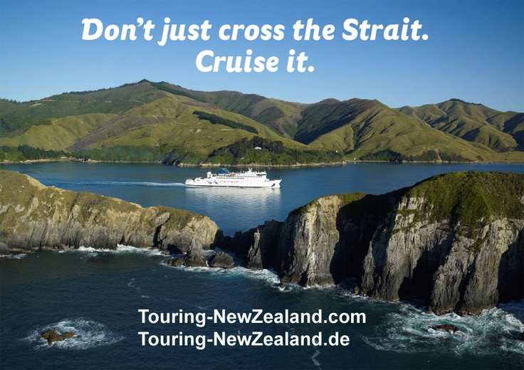 Take a three hours ferry trip to cruise around the lower North Island coastline and experience the peaceful Marlborough Sounds - a truly breathtaking entrance to the South Island New Zealand. http://www.touring-newzealand.com/interislander/ferry-wellington-picton.php