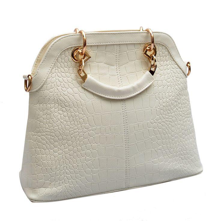 Aliexpress.com: Купить Топ из высококачественной натуральной кожи женская сумки мода крокодил тисненая сумка молния кроссбоди сумка леди роскошный из Надежный сумки сумки из искусственной поставщиков на Stylish New Definition Co. Ltd.
