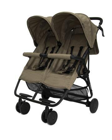 Cozy прогулочная Smart Dark Sand Melange  — 18600р. ------------ Cozy Smart - современная прогулочная коляска для двух детей. Спинки регулируются, капор большой, складной. В комплекте дождевик и накидка на ножки.