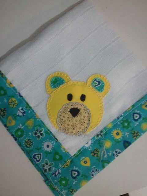 Pa alito para bebe 40x40 cm patchwork y manualidades - Cambiador bebe patchwork ...