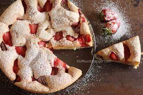 moelleux gateau au fraise