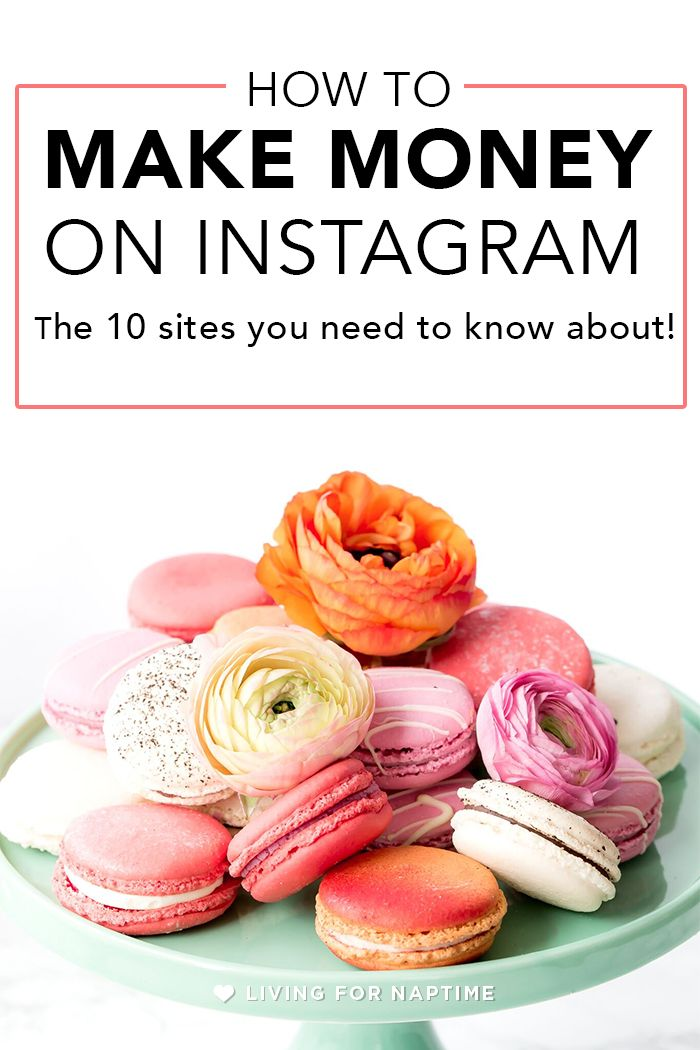 Make money on Instagram with sponsored posts. This blog post gives you 10 sites that you can use to earn money with your Instagram profile.