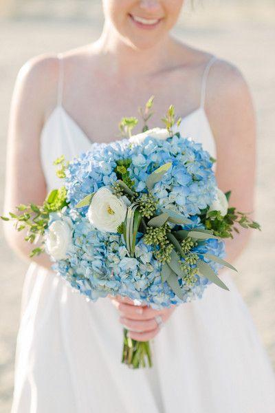 Sky Blue Beachfront Wedding | Wedding Bouquets | Wedding ...