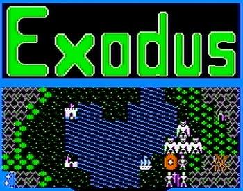 Ultima 3 Exodus, Apple II