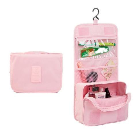 Hanging wash bags, portable women/men cosmetic & toiletry organizer