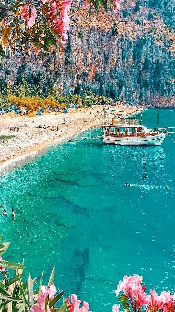 #turkey #türkei #meer #schiff #ocean #reisen #urlaub #strand #sand