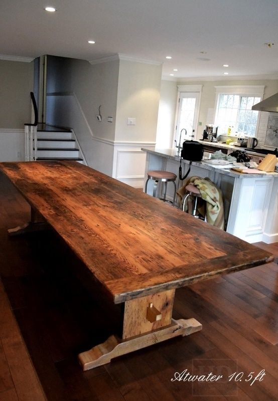 trestle tables ontario rustic trestle table hd threshing harvest tables pinterest madeira ontario and trestle table - Kitchen Tables Wood