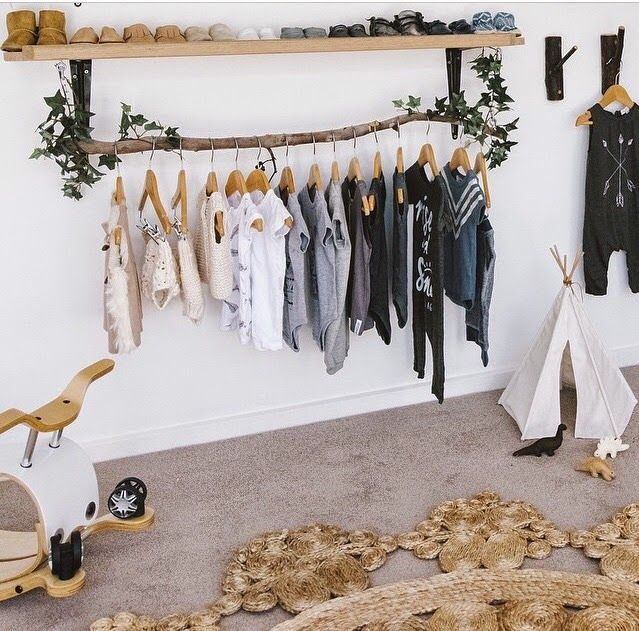 I've always loved the idea of having an open wardrobe, like the Scandinavians do. But an open wardrobe in an adult bedroom means you have to be super tidy and organised with your clothes. However, in a baby or toddler room, this look is so much easier to pull off.  Babies tend to have far […]
