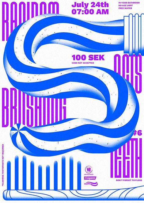 Erik Kirtley Contemporary graphic design poster