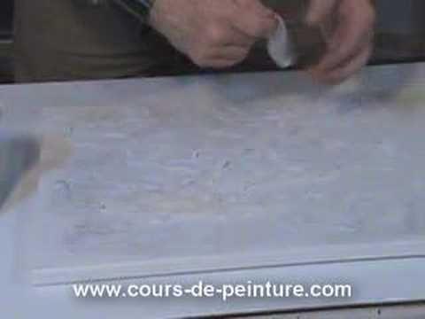 cours de peinture - technique mixte - 2eme partie