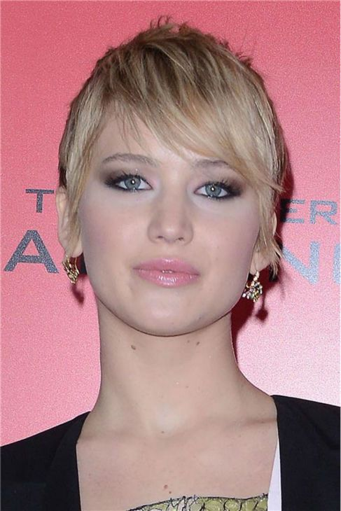 The Hunger Games: Catching Fire' actress Jennifer Lawrence (Katniss Everdeen) attends the premiere of the movie in New York on Nov. 20, 2013...