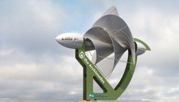 LIAM F1: pequeño aerogenerador urbano que puede hacer a los hogares energéticamente autónomos