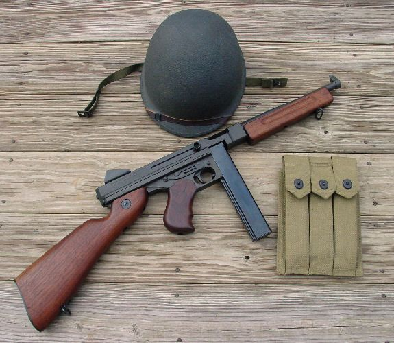 thompson submachine gun                                                                                                                                                                                 More