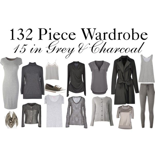 """""""15 in Grey & Charcoal"""" by charlotte-mcfarlane on Polyvore"""