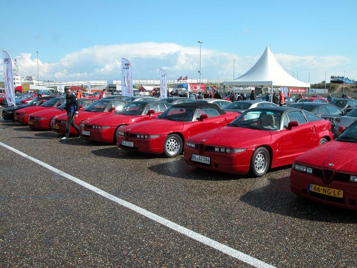 Alfa Romeo clubdag Zandvoort 2014
