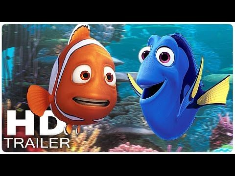 FINDET DORIE Alle Trailer + Clips German Deutsch | Dory | Disney Filme 2016 - YouTube