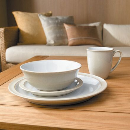 Denby™ Linen 16 Piece Dinner Set - Buy Direct @ Denby.co.uk