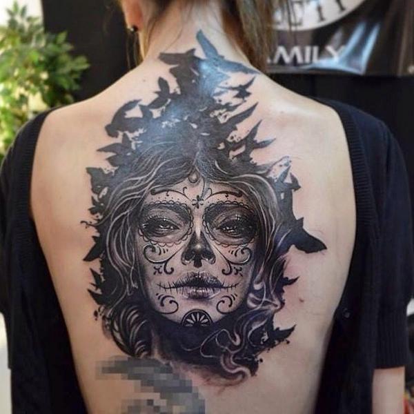 World Tattoo Gallery в Твиттере: «Muerte tattoo by Elvin Yong #tattooartist #tattoo #muertetattoo #muerte #ink #inked http://t.co/XHZlpXVdxA http://t.co/OeHv9DE2rr»