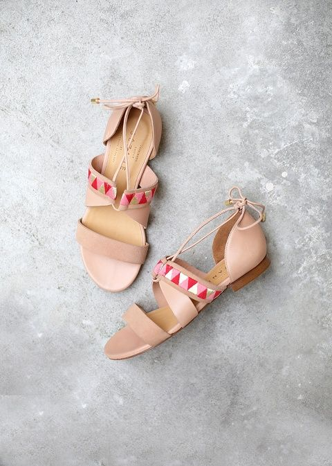 Sézane - LOW CAPRI SANDALS