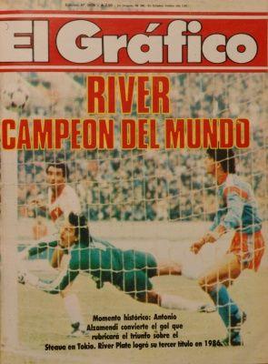 1986 Antonio Alzamendi, River Plate Campeon del Mundo