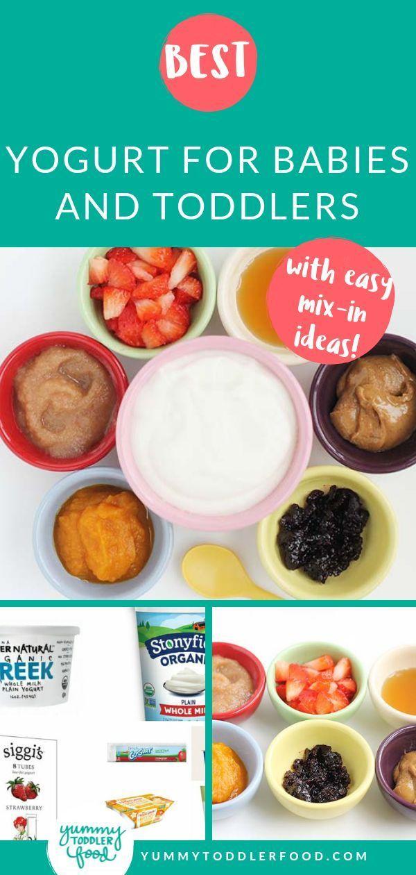 Best Yogurt For Babies And Toddlers Plain Yogurt Recipes Baby Food Recipes Baby Breakfast