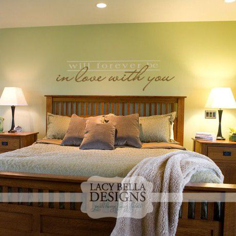 Master Bedroom Vinyl Wall Art 94 best master bedroom images on pinterest | wall quotes, home and