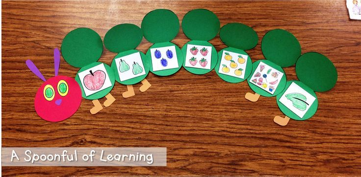 Insects! Literacy and Math Activities! The Very Hungry Caterpillar