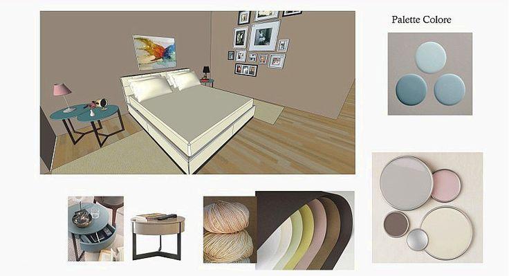 Esami finali Corso di Interior Design (www.madeininterio...): progetto di interni, Tiziana Vomero