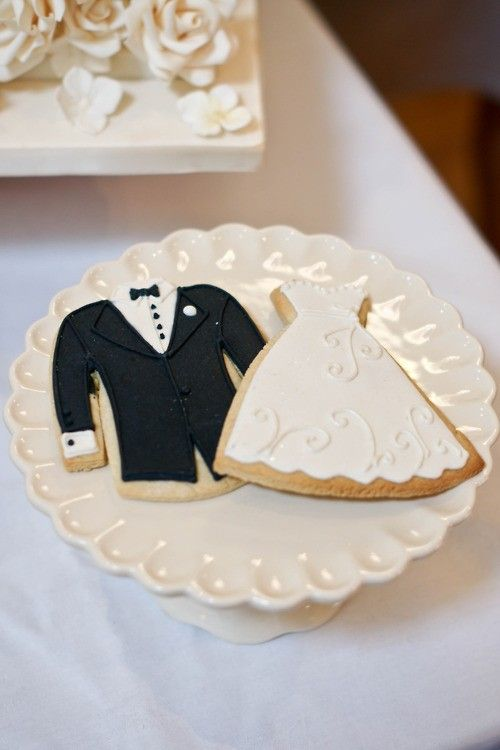 www.weddbook.com everything about weddings ♥Wedding cookies #cookies #wedding