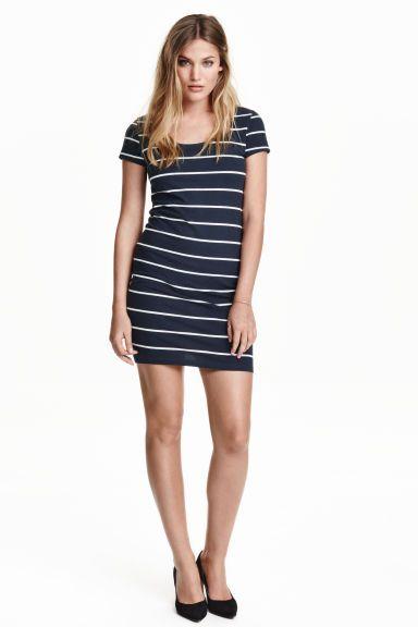 Облегающее платье, трикотаж | H&M 699 р