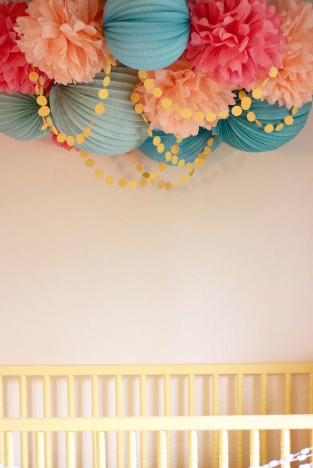 1000 Ideas About Paper Lanterns Nursery On Pinterest