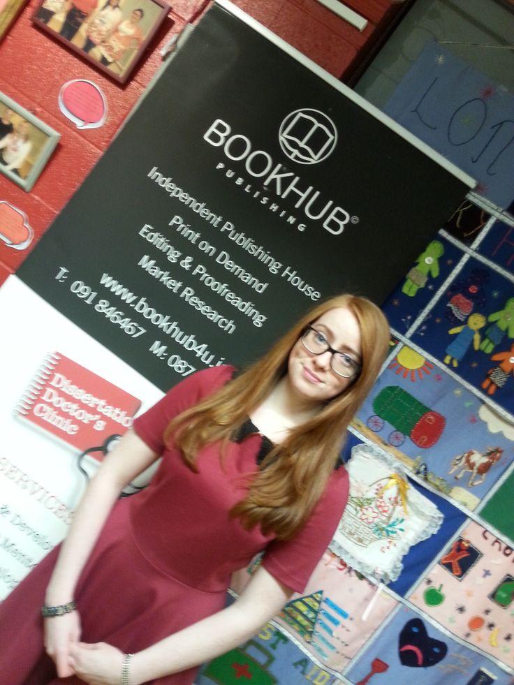 Book Hub Publishing launch of Orla McCann's Sophie's Christmas Wish. Longford, November 2015.