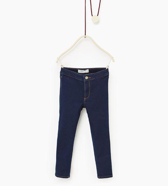 Image 1 of Basic jeggings from Zara