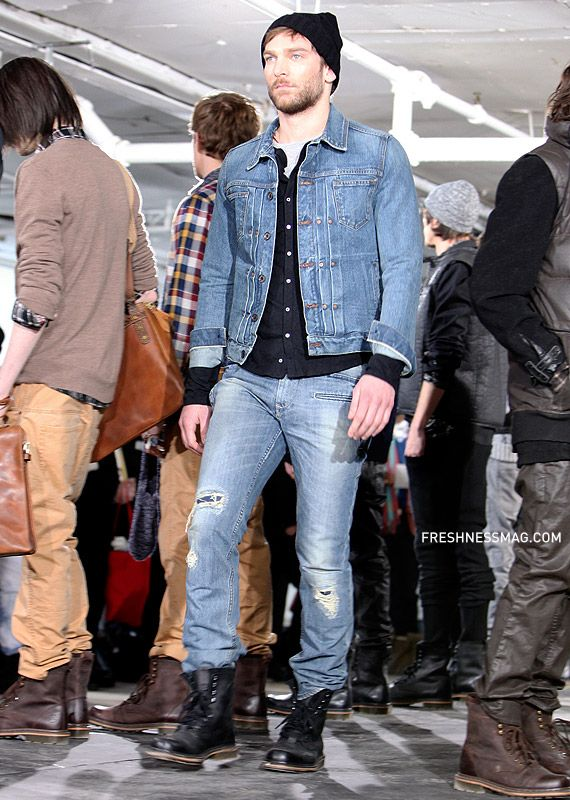 denim jacket outfit ideas men , Google Search
