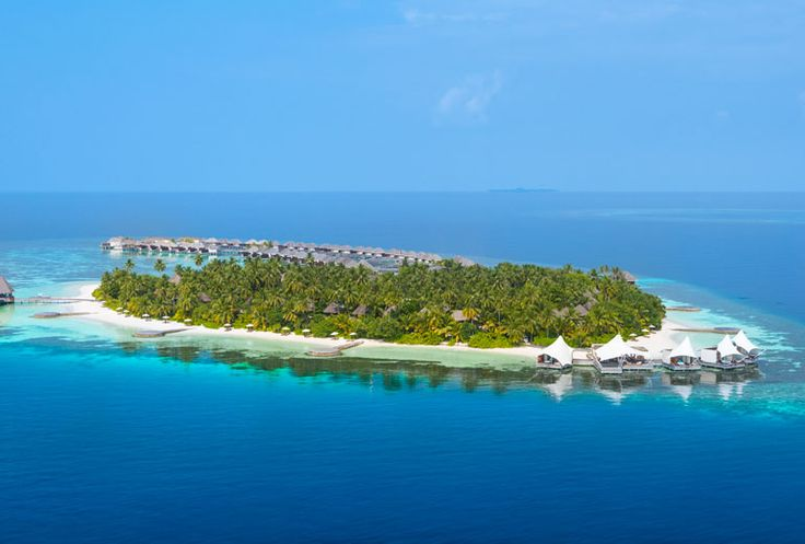 W Retreat & Spa - Maldives - Aerial view
