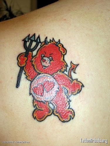 17 best images about care bear tattoo on pinterest for Best tattoo place in san antonio