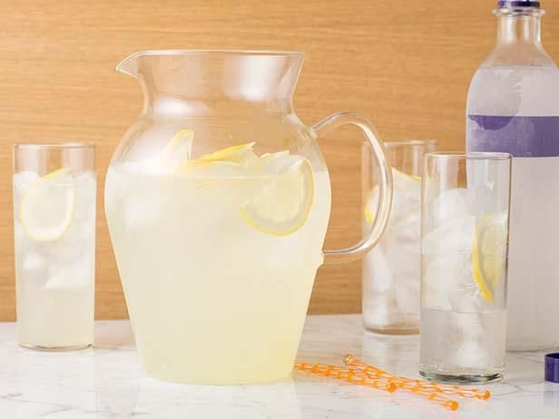 Get your weekend started with Tyler's Vodka Lemonade.Food Network, Vodka Lemonade Ii, Adult Capri, Capri Sun, Lemonade Vodka, At The Beach, Cocktails, Tyler Florence Recipes, Lemonade Recipe