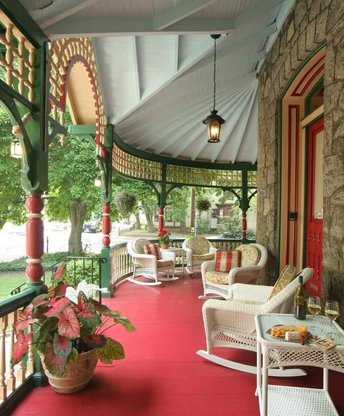Porches Wrap Around Porches And Victorian On Pinterest: 73 Best Images About Porch... On Pinterest