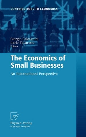 "The Economics of Small Businesses: An International Perspective edited by Giorgio Calcagnini and Ilario Favaretto - chapter entitled ""Sources of Financing for New Technology Firms: Evidence from the Kauffman Firm Survey"" by Susan Coleman and Alicia M. Robb: Small Business, Dads Books, My Dad"