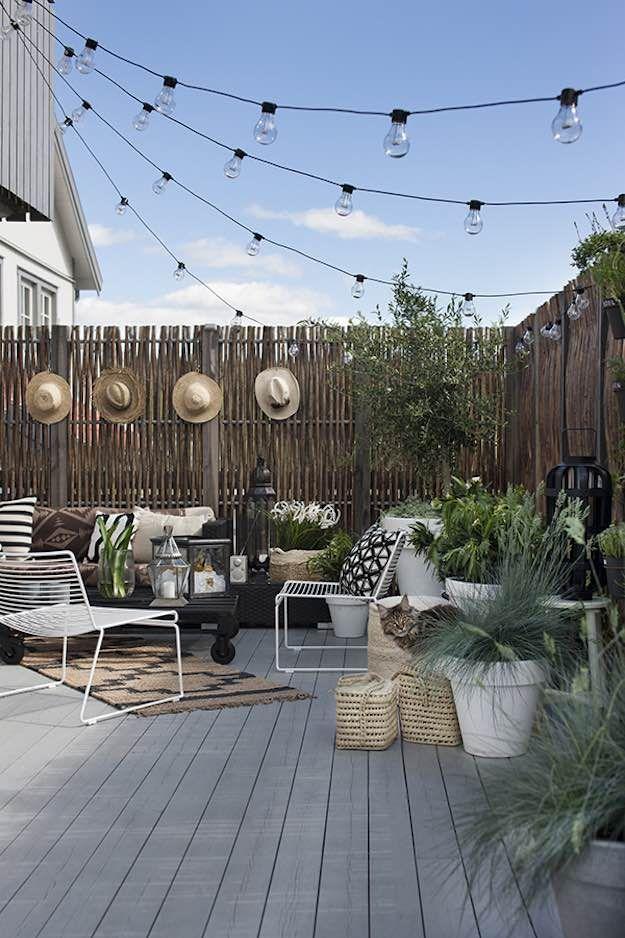 best 25+ patio string lights ideas on pinterest   patio lighting ... - Patio Lights Ideas