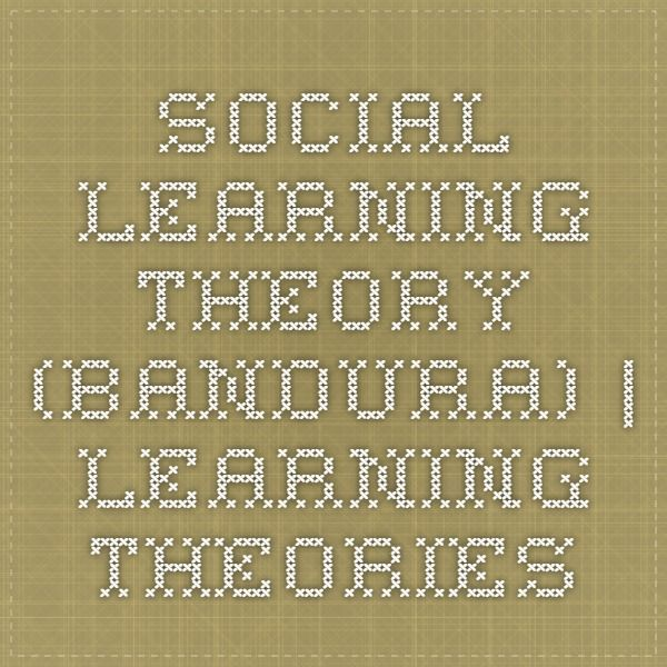Social Learning Theory (Bandura) | Learning Theories