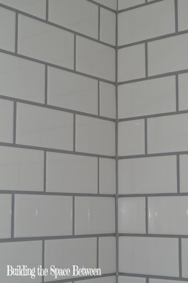 56 best subway tile grout images on pinterest white tiles grey perfect dark grey caulk line bathroom updatesbathroom ideastile groutwhite subway tilesperfect dailygadgetfo Choice Image