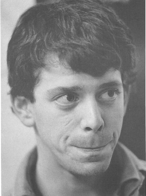 Lou Reed at The Factory;, photo by Stephen Shore, ca 1965