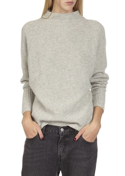 Pull col cheminée cachemire  Gris by POLO RALPH LAUREN
