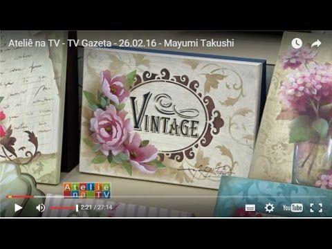 Stencil OPA - 26/02/16 - Mayumi Takushi - Camélias Vintage - YouTube