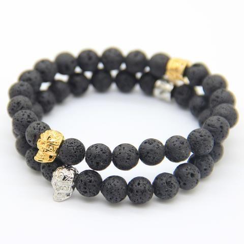 Skull Bracelet (2 colors )